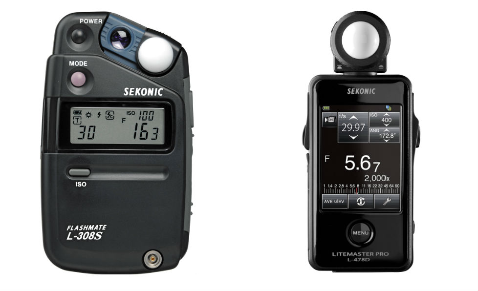 incident light meter