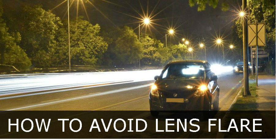 avoid lens flare