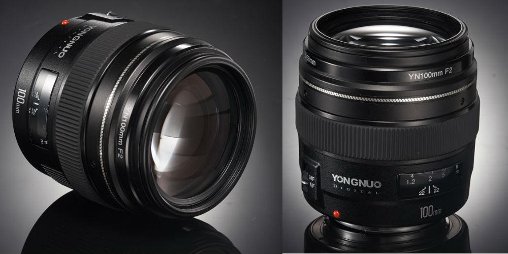 yongnuo yn 100mm f/2 lens