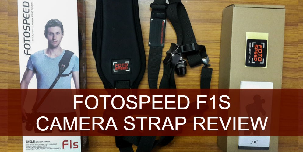 Fotospeed F1S Camera Shoulder Strap