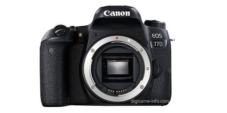 canon 77D leaked photos and specs