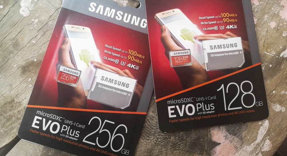 Samsung MicroSDXC EVO Plus 256 gb Memory Card