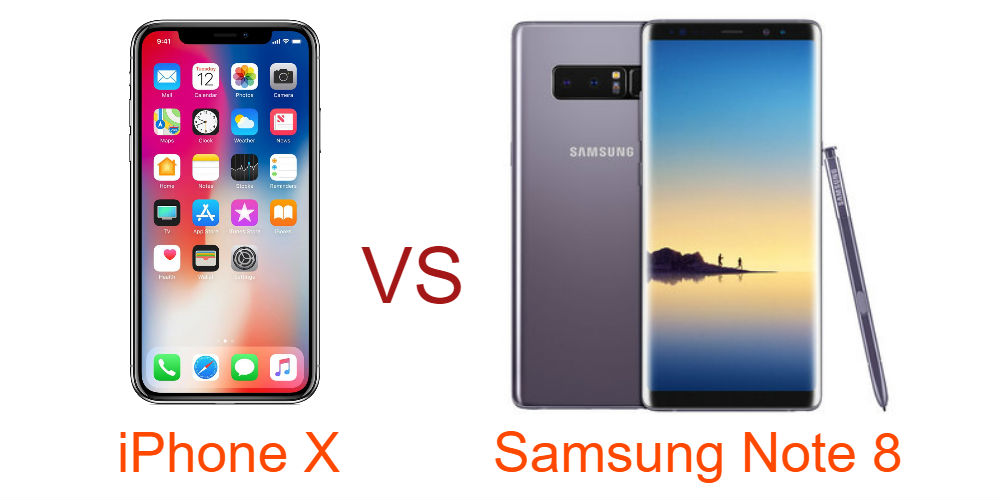 iphone x vs samsung note 8 camera comparison