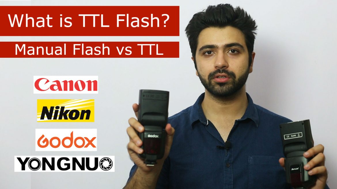 ttl flash through the flash metering